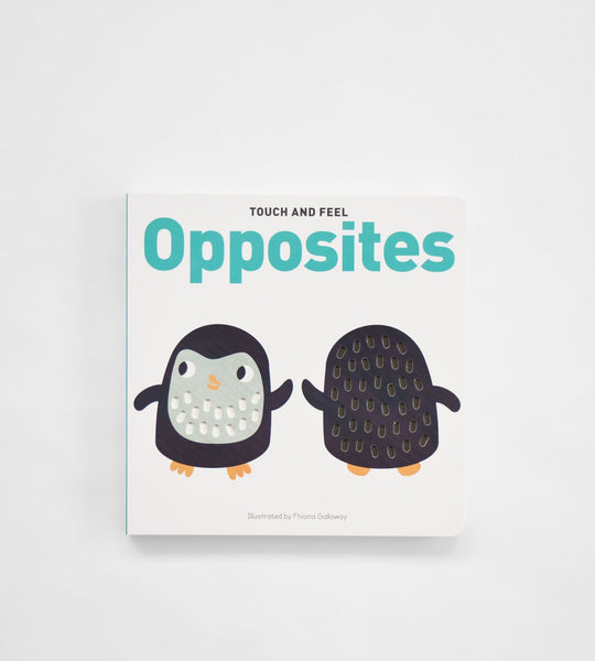 Opposites Board Book | Touch & Feel