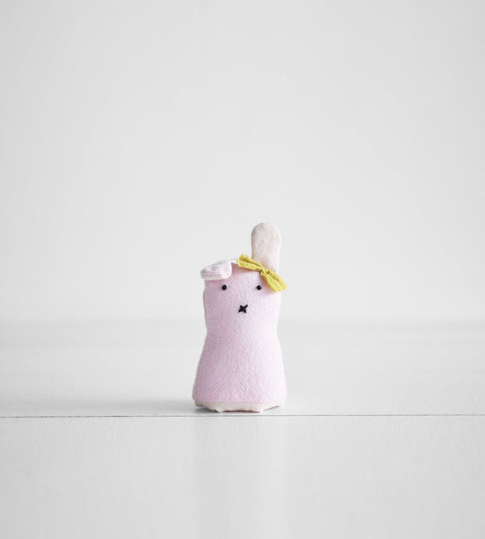 Finger Puppet | Pink Bunny