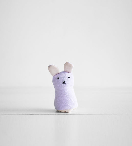 Finger Puppet | Purple Bunny