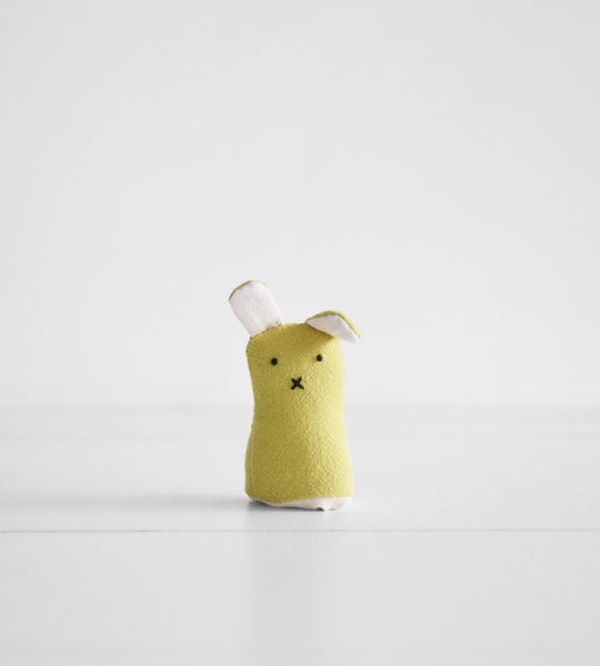 Finger Puppet | Yellow Bunny