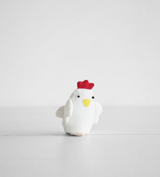 Finger Puppet Chicken