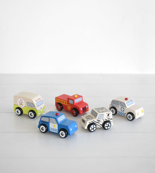 Discoveroo | Emergency Cars | Set of 5