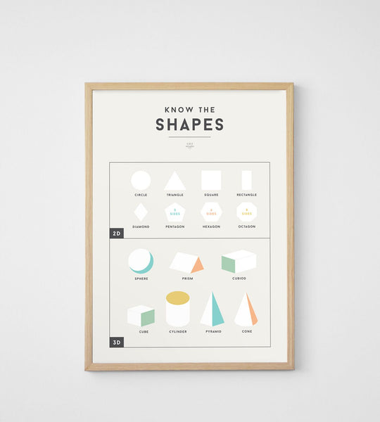 Squared | Shapes Poster