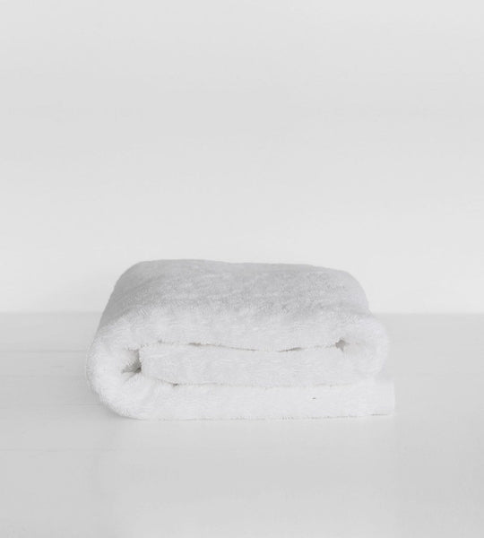 Father Rabbit Classic White Towel