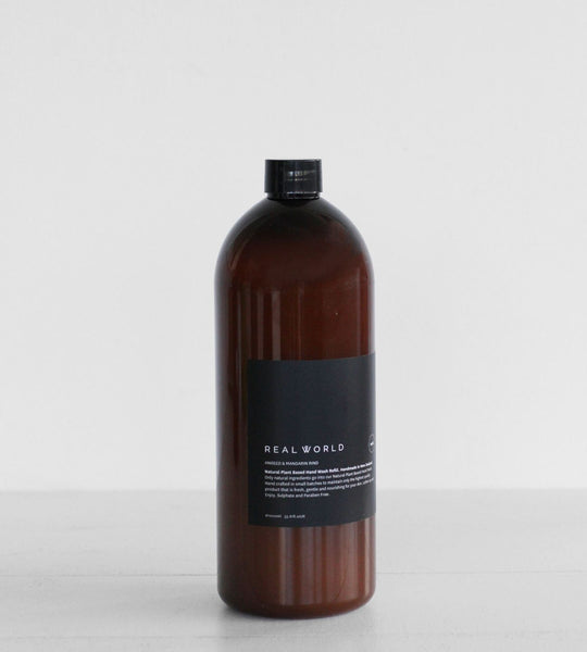 Real World | Hand Wash | Aniseed & Mandarin Rind | Refill