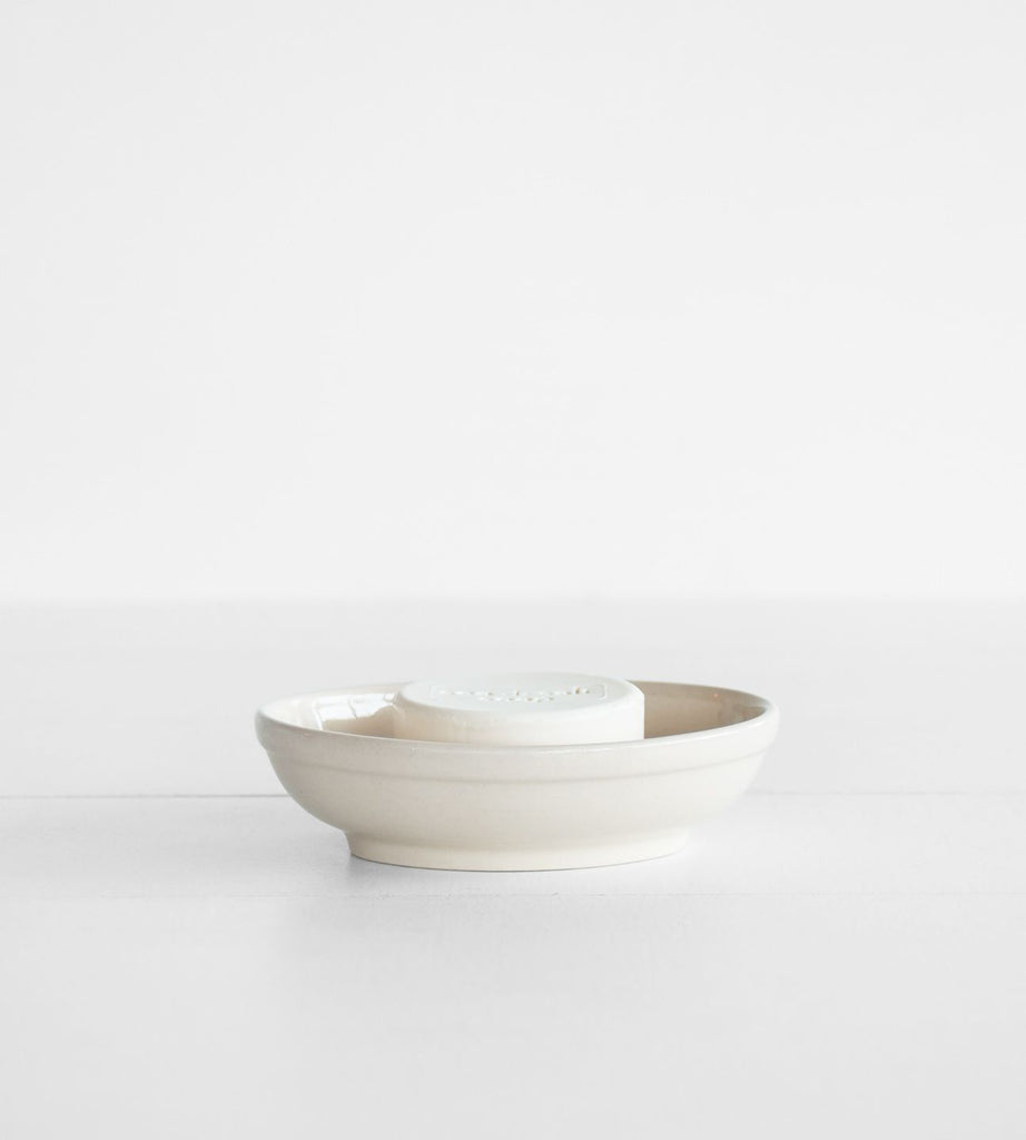 Redecker Oval Ceramic Soap Dish