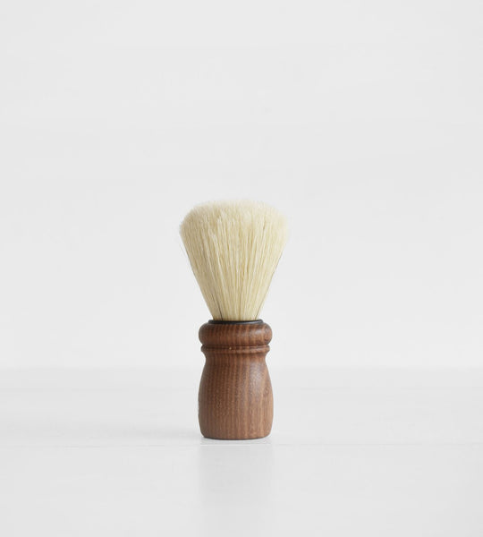 Redecker Acacia Shave Brush | Brown