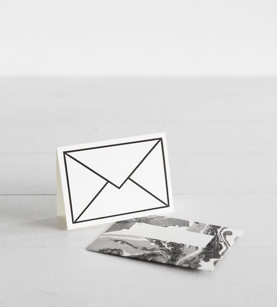Katie Leamon | Petit Card | Black & White Envelope