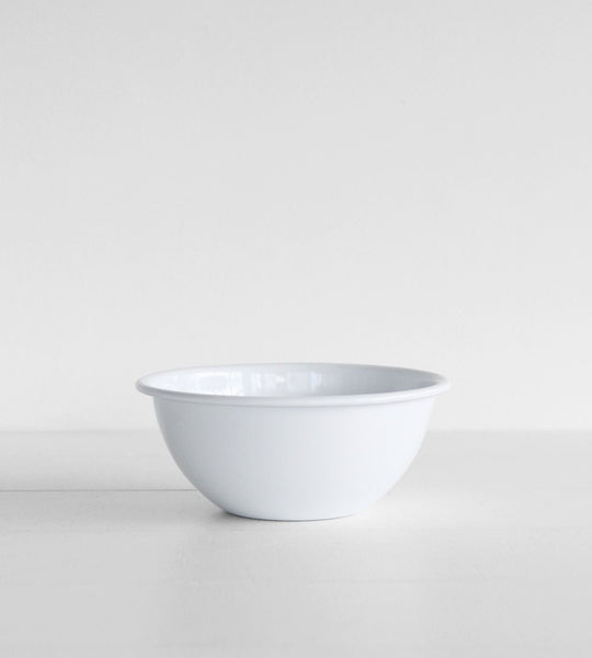 White Enamel | Cereal Bowl