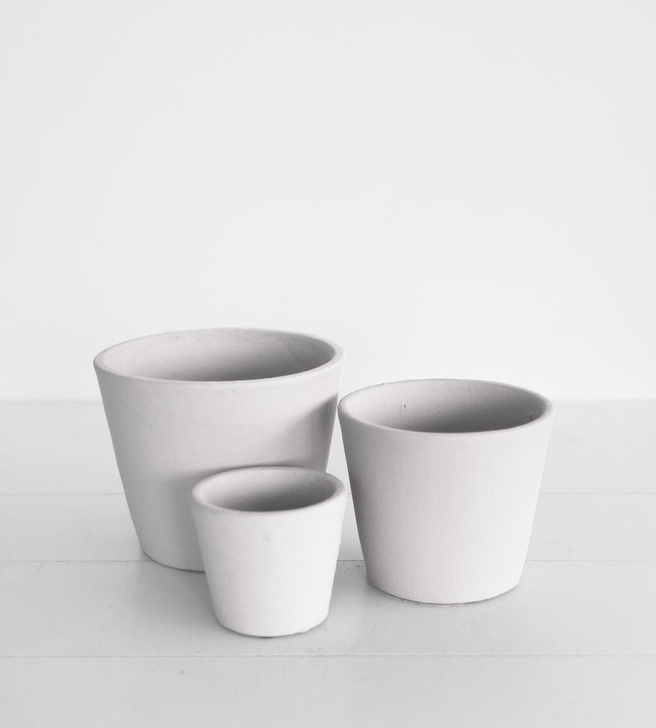 Serax | Stoneware Flower Pot | Light Grey