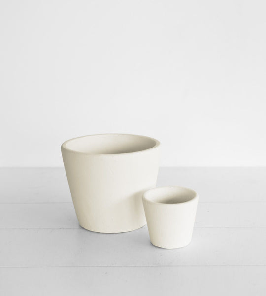 Serax | Stoneware Flower Pot | Stone White