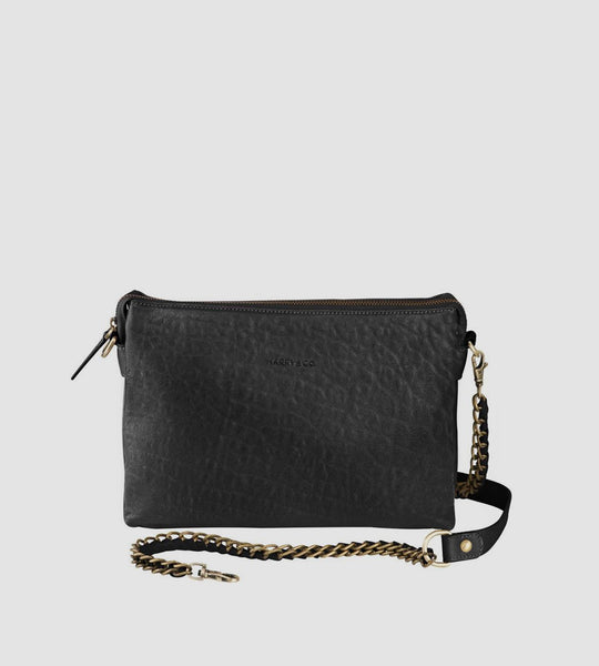 Harry & Co. | Everywhere Bag | Bubble Leather | Black