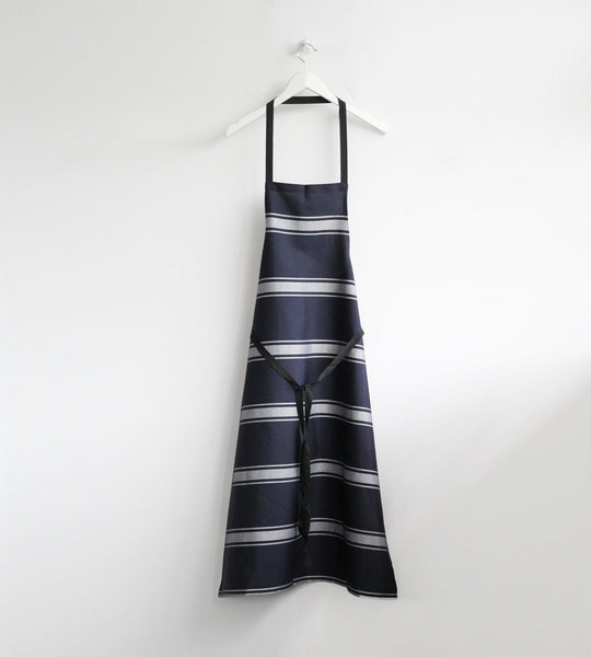 Butcher's Apron | Bratting Stripe | Navy & White