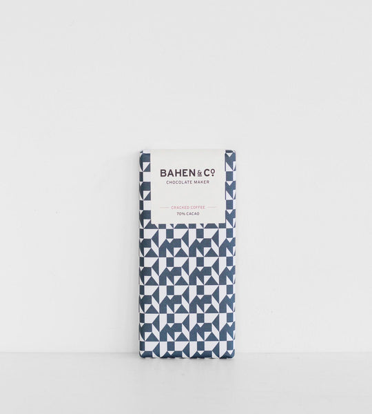 Bahen & Co. | Chocolate Bar | Brazilian Cracked Coffee 70%