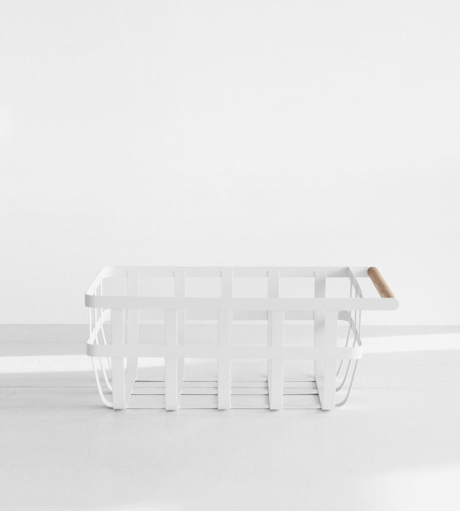 Yamazaki | Tosca Storage Basket Single Handle