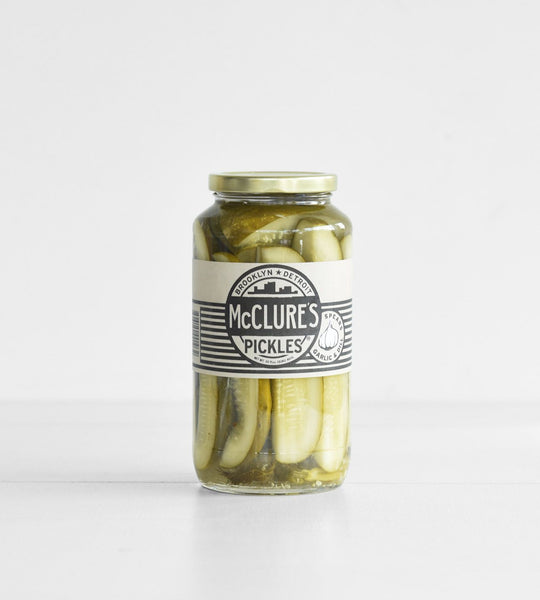 McClure's Pickles | Garlic & Dill Pickle Spears