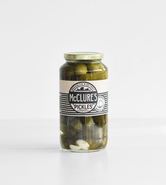 McClure's Pickles | Whole Garlic & Dill Pickles