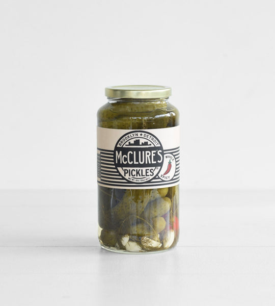 McClure's Pickles | Whole Spicy Pickles