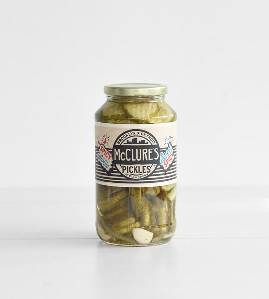 McClure's Pickles | Sweet & Spicy Crinkle Cut Pickles