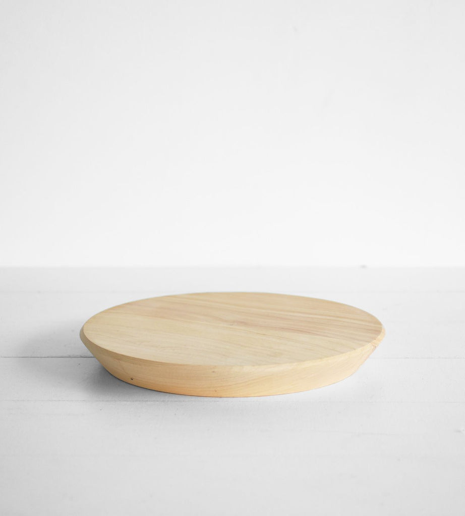 Macrocarpa Round Chopping Board