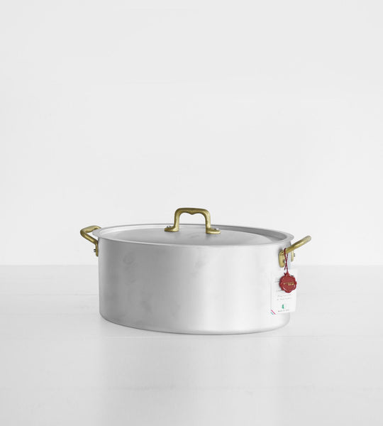 Ottinetti Oval Saucepan with Lid | 28cm