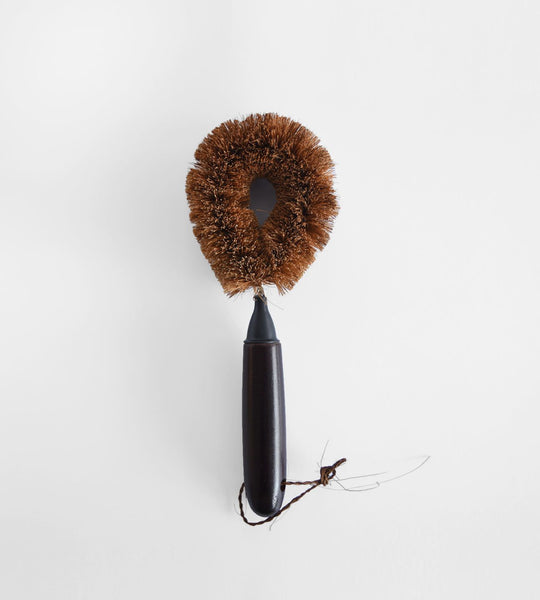 Dark Handle Dish Brush | Coarse Bristles