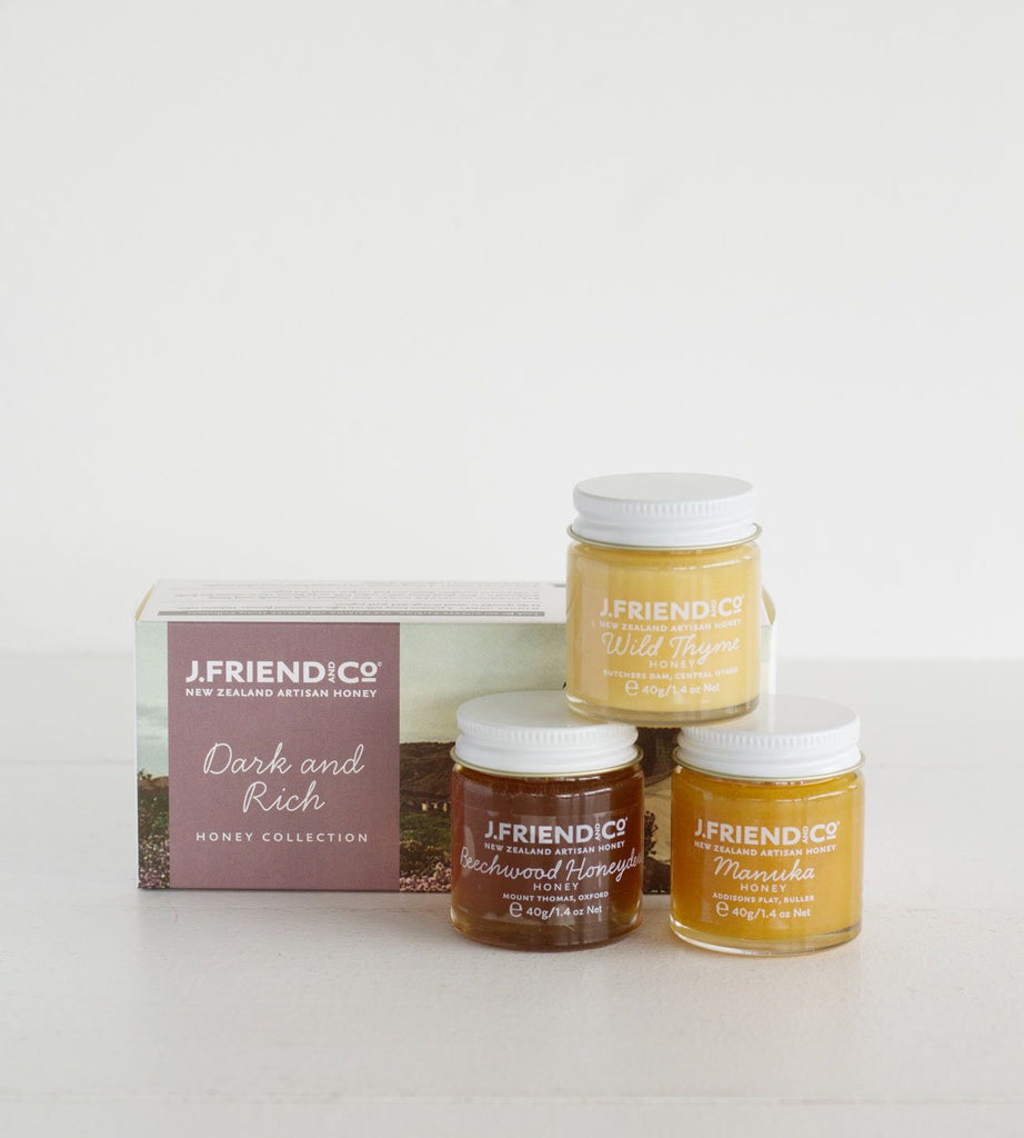 J. Friend & Co. | Dark & Rich Honey Collection | 120g