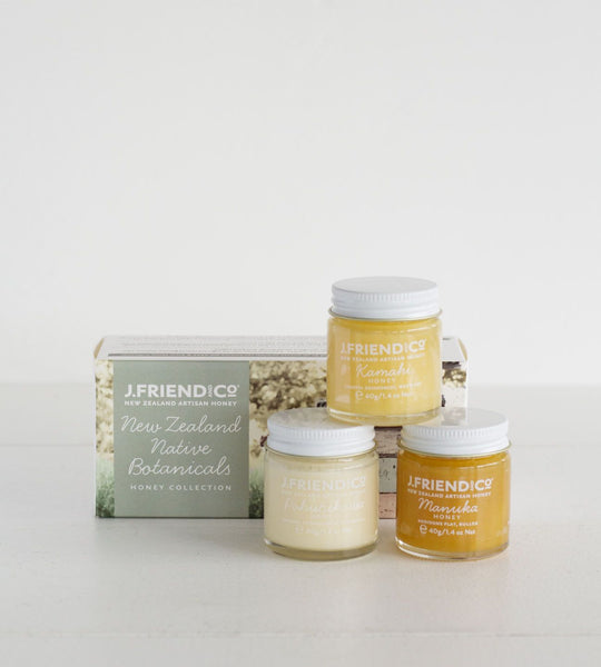 J. Friend & Co. | New Zealand Native Honey Collection