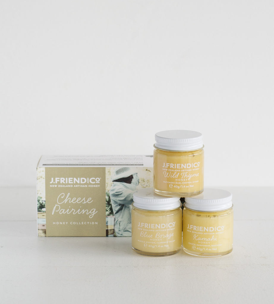 J. Friend & Co. | Cheese Pairing Honey Collection