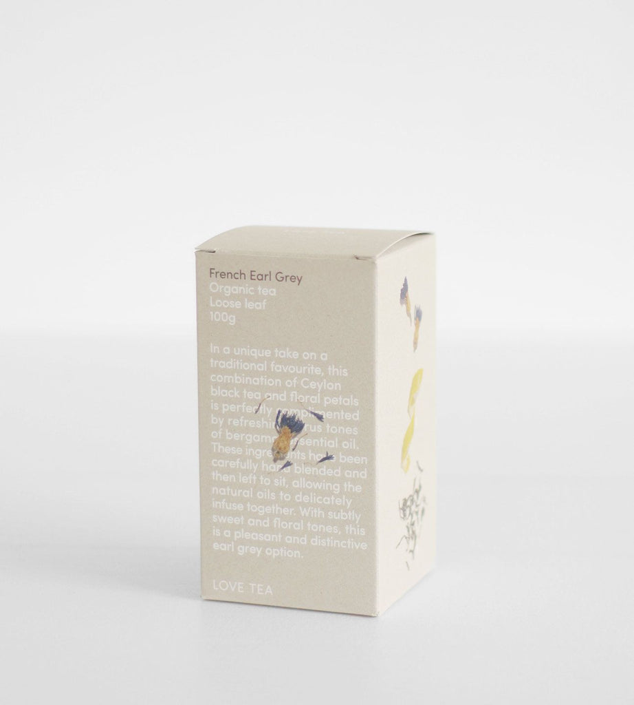 Love Tea | Loose Leaf 100g | French Earl Grey