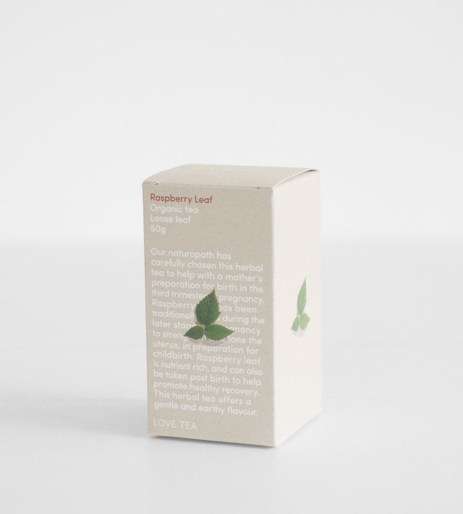 Love Tea | Loose Leaf 50g | Raspberry Leaf