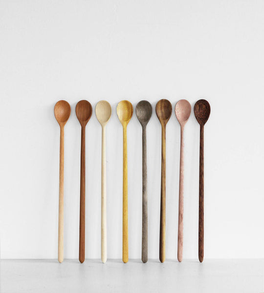 Single Long Spoon | Assorted Colours