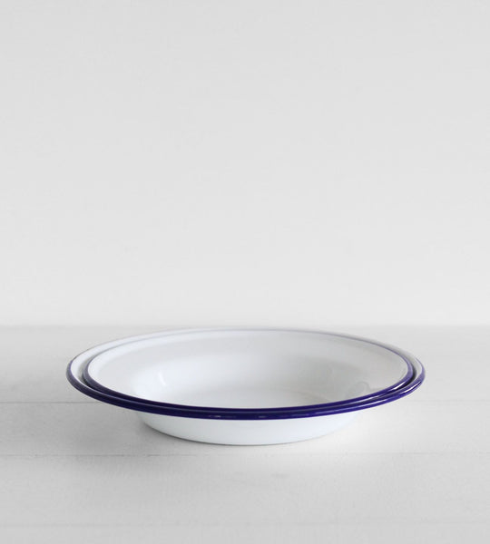 Traditional Enamel | Soup Plate