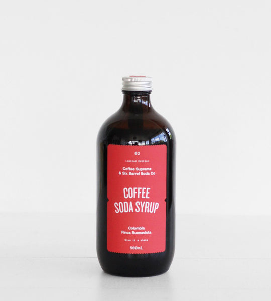 Six Barrel Soda Co. | Soda Syrup | Coffee