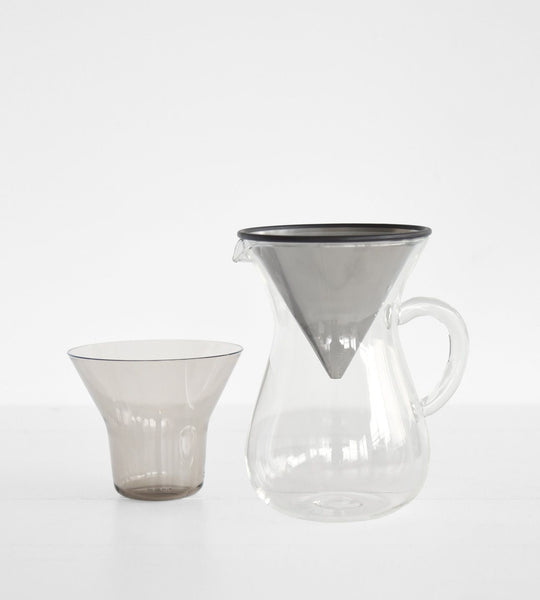 Kinto | Coffee Carafe Set with Stainless Steel Filter