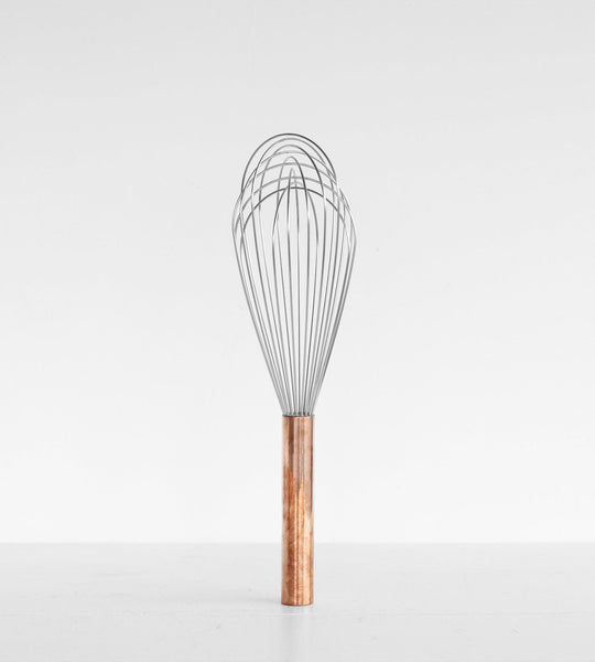 Kitchen Whisk Balloon Style Copper Handle