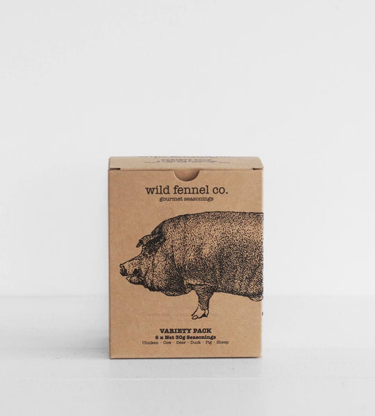 Wild Fennel | Meat Seasoning Variety Pack