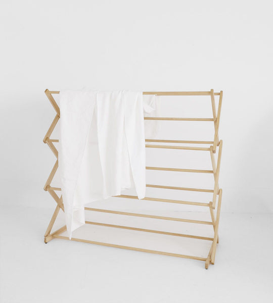 Father Rabbit Jumbo Wooden Drying Rack
