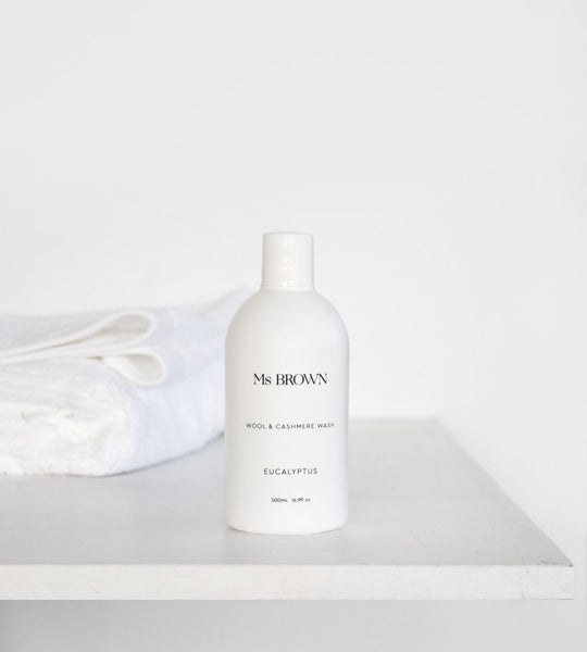 Ms Brown | Wool & Cashmere Wash 500ml | Eucalyptus