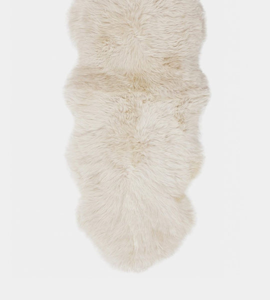 Long Wool Sheepskin | Linen