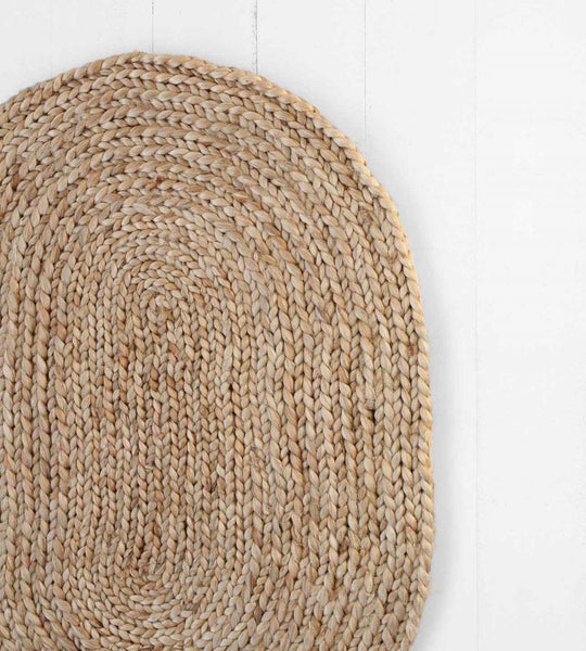 Rug | Jute Braided Oval