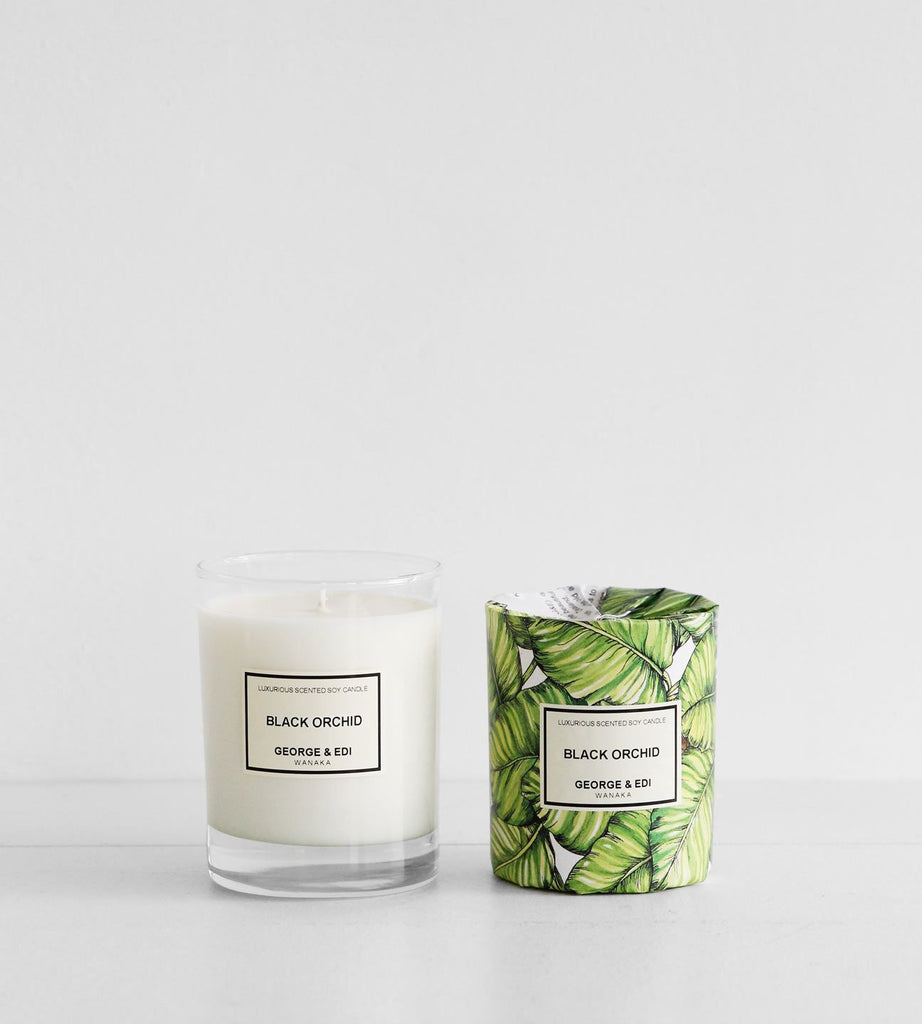 George & Edi | Soy Candle | Black Orchid