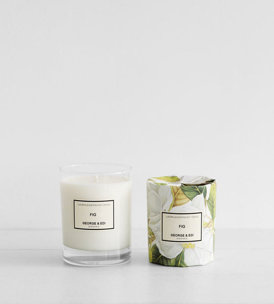 George & Edi | Soy Candle | Fig