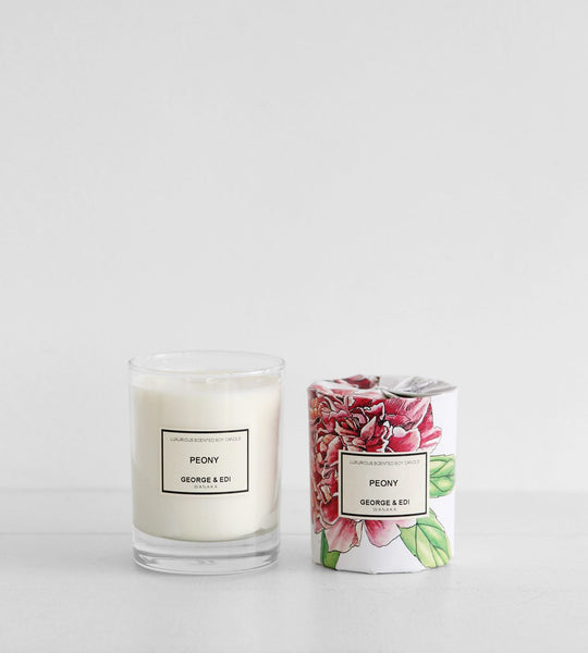George & Edi | Soy Candle | Peony