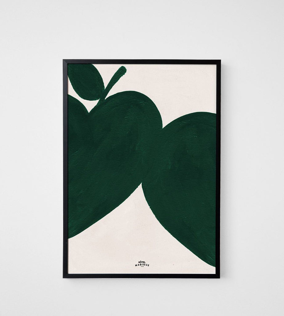 Hotel Magique | I Like My Apples Green Framed Print | A3