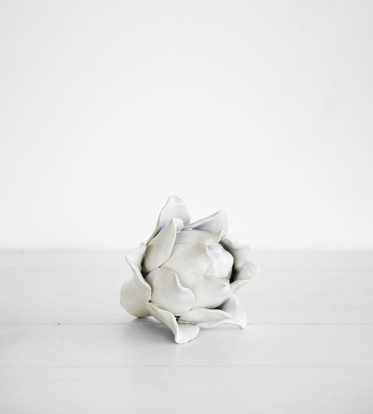 Ceramic Artichoke | White