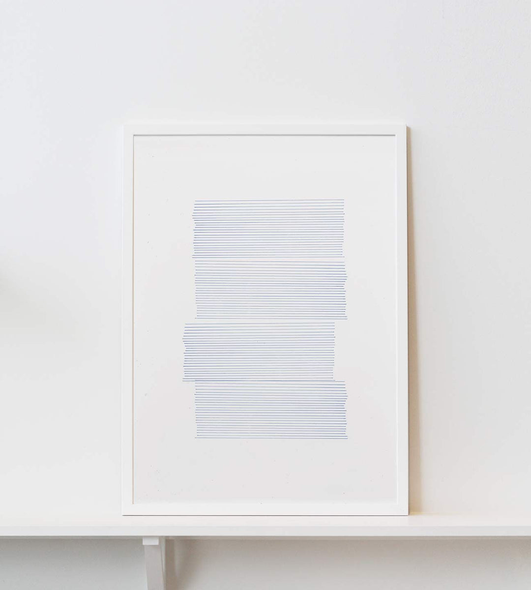 Paper Collective | Into the Blue #01 | Framed Print | 50 x 70cm
