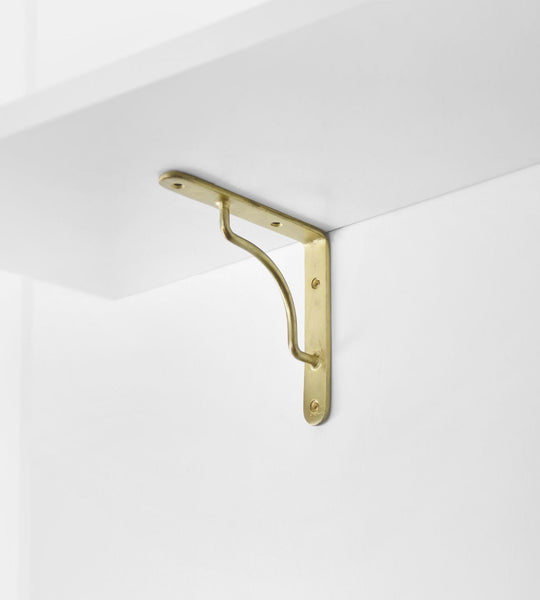 The Society Inc. | Panhandler Bracket | Brass