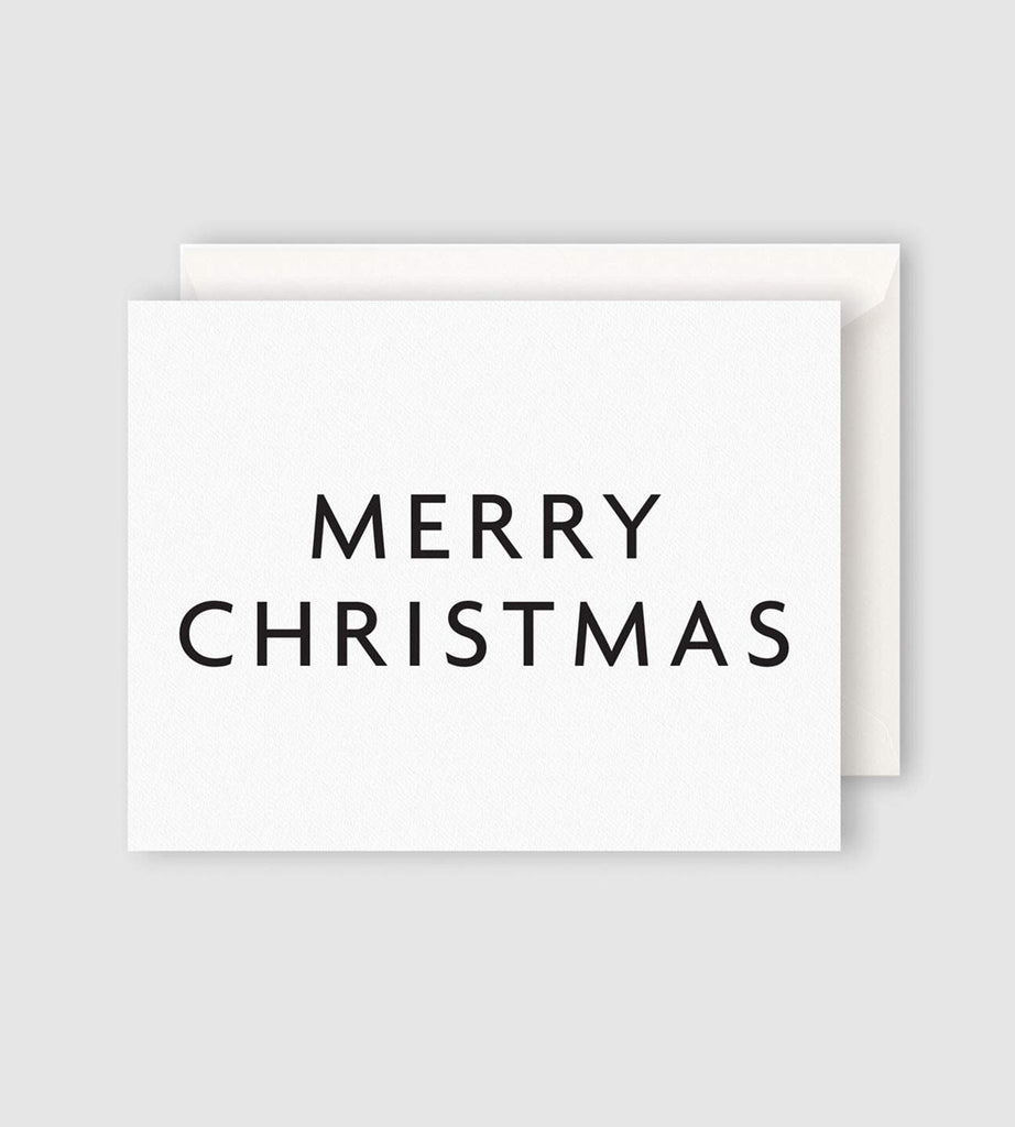 Father Rabbit Stationery Merry Christmas Card