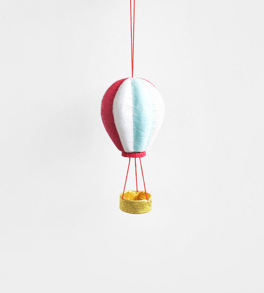 Christmas Decoration | Hanging Paper Decoration | Hot Air Balloon